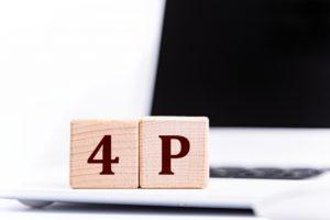 4Pの文字